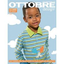 Časopis Ottobre design - 2009/1, Kids, English, jarní vydání