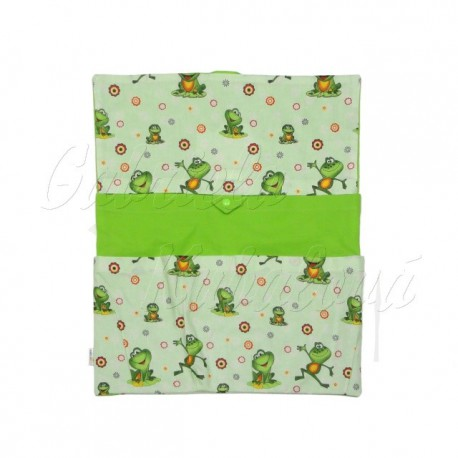 Dětský kapsář Žabičky na zelené