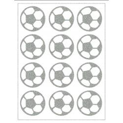 Reflexní nažehlovací potisk - Fotbalové míče (12 ks)