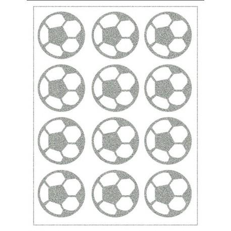 Reflexní nažehlovací potisk - Fotbalové míče