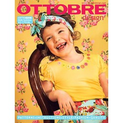 Časopis Ottobre Design Kids 2009-3, titulní strana