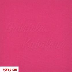 Kočárkovina, Tm. růžová, MAT 130, šíře 160 cm, 10 cm