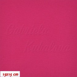 Kočárkovina, Tm. růžová, MAT 138, šíře 160 cm, 10 cm