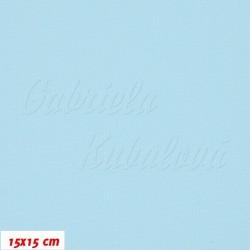 Kočárkovina, bledě modrá, MAT 432, šíře 160 cm, 10 cm, Atest 1