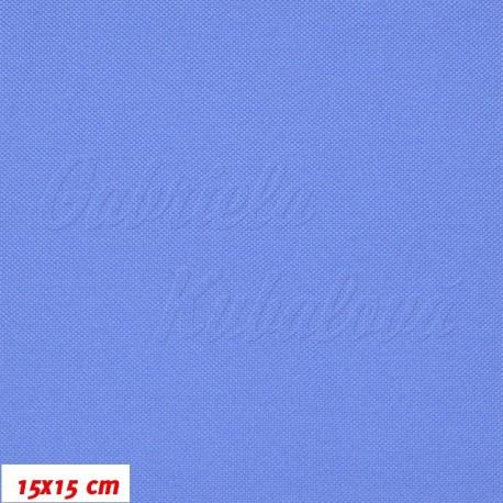 Kočárkovina MAT 453 modrá, 15x15cm