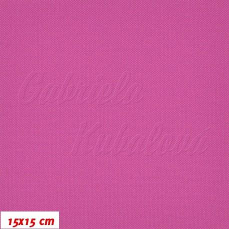 Kočárkovina MAT 478, červenofialová, 15x15cm