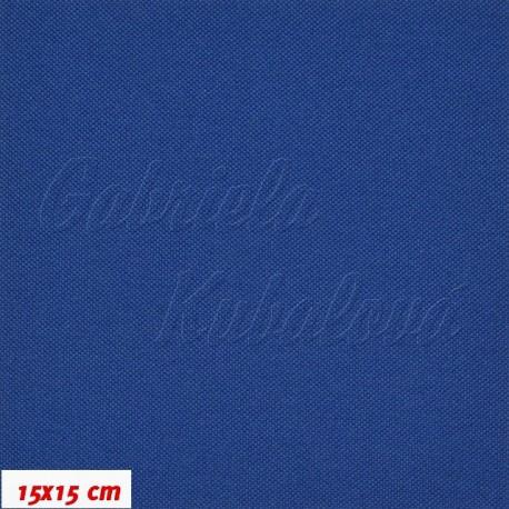 Kočárkovina MAT 502, tmavě modrá, 15x15cm