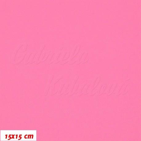 Kočárkovina MAT 538, neónově růžová, 15x15cm