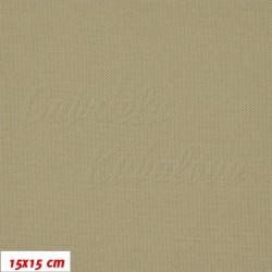 Kočárkovina, khaki, 15x15cm