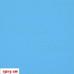 Kočárkovina, Tyrkysově modrá, MAT 956, šíře 160 cm, 10 cm, Atest 1