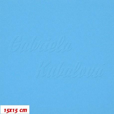 Kočárkovina MAT 956, tyrkysově modrá, 15x15cm