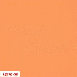 Kočárkovina, pastelově oranžová, 15x15cm
