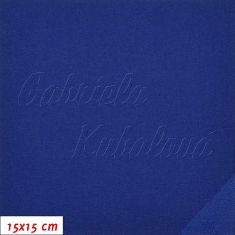Látka softshell metráž - 10000/3000, šíře 147 cm, Královsky modrá, 10 cm, SOFT368