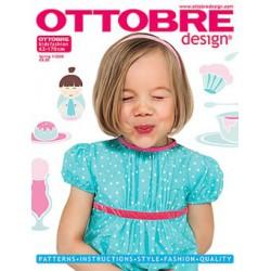 Časopis Ottobre design - 2008/1, Kids, English, jarní vydání