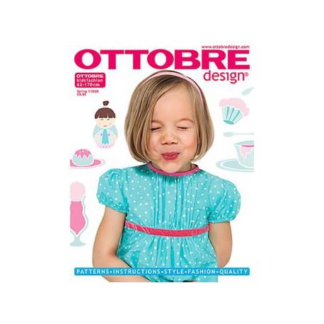 Časopis Ottobre design - 2008/1, Kids, titulní strana