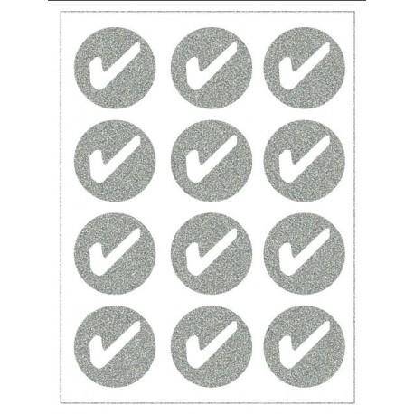 Reflexní nažehlovací potisk - Fajfky v kolečku