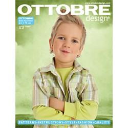 Časopis Ottobre design - 2007/1, Kids, Holandsky + anglický překlad, jarní vydání