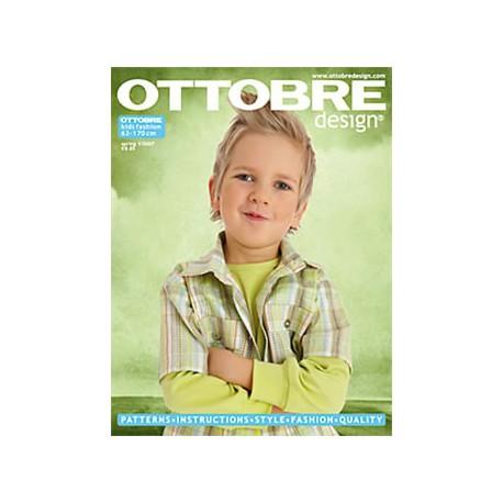 Časopis Ottobre design - 2007/1, Kids, titulní strana