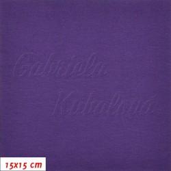 Úplet jednolícní tm. fialový, b. 1336, gr. 260, šíře 175 cm, 10 cm, ATEST 1