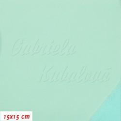 Zimní softshell - 10000/3000, Mentolový SOFT 595, šíře 147 cm, 10 cm