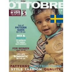 Ottobre design Kids, 2005-01, Švédsky, titulní strana