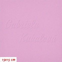 Kočárkovina, MAT 019 růžová, 15x15cm