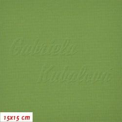 Kočárkovina, Zelená, MAT 410, šíře 160 cm, 10 cm, Atest 1
