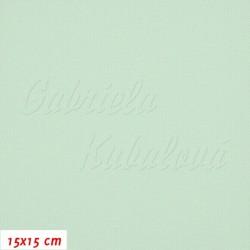 Kočárkovina, Světle azurová, MAT 437, šíře 160 cm, 10 cm, Atest 1