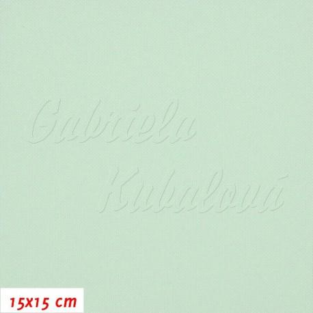 Kočárkovina, MAT 437 světle azurová, 15x15cm
