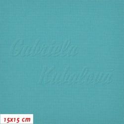 Kočárkovina, MAT 531 tyrkysová, 15x15cm