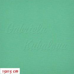 Kočárkovina, Zelená, MAT 593, šíře 160 cm, 10 cm, Atest 1
