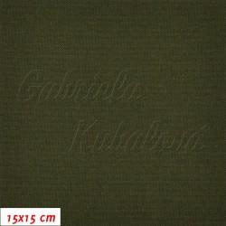 Kočárkovina, Tmavě zelená, MAT 731, šíře 160 cm, 10 cm, Atest 1