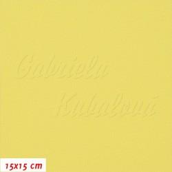 Kočárkovina, Žlutá, MAT 631, šíře 160 cm, 10 cm, Atest 1