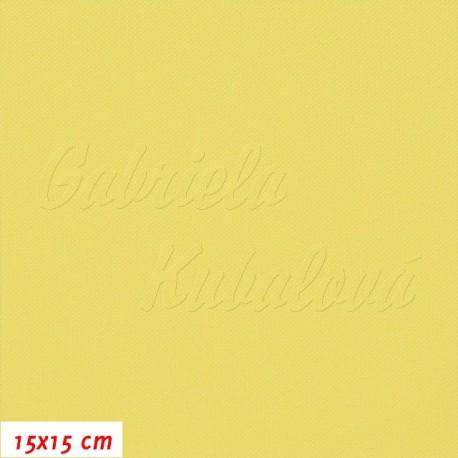 Kočárkovina, MAT 631 žlutá, 15x15cm