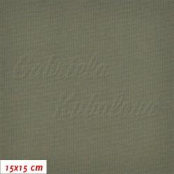 Kočárkovina, MAT 400 khaki, 15x15cm