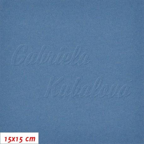Kočárkovina, MAT 785 kovově modrá, 15x15cm