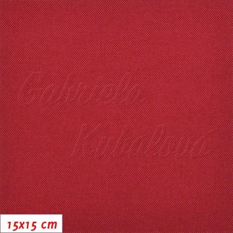 Kočárkovina, LESK 009 červená, 15x15cm