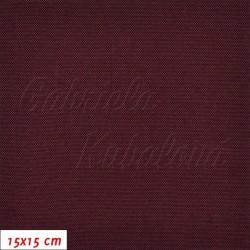 Kočárkovina, LESK 002 fialová, 15x15cm