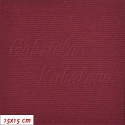 Kočárkovina, LESK 011 červeněfialová, 15x15cm