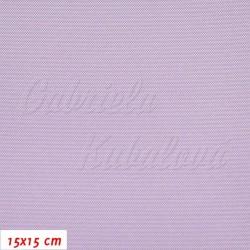 Kočárkovina, LESK 130 světle fialová, 15x15cm