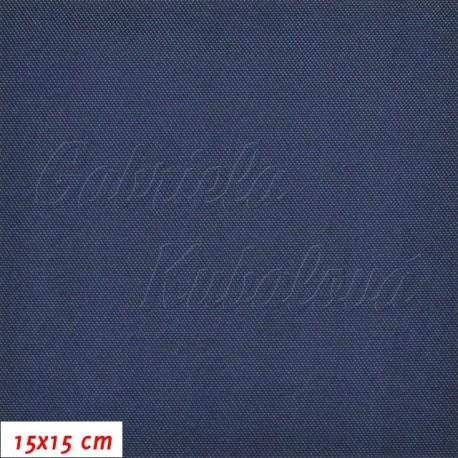 Kočárkovina, LESK 013 tmavě modrá, 15x15cm