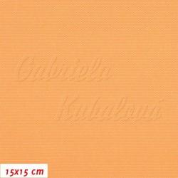 Kočárkovina,meruňková, LESK ORG, šíře 160 cm, 10 cm