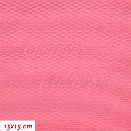 Kočárkovina, LESK 045 růžová, 15x15cm