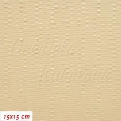 Kočárkovina LESK 024 - Béžová, šíře 160 cm, 10 cm, 2. jakost