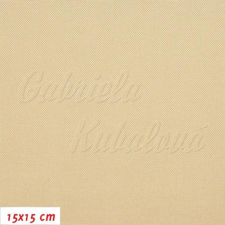 Kočárkovina, LESK 024 béžová, 15x15cm