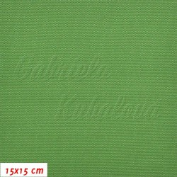 Kočárkovina, LESK 018 zelená, 15x15cm
