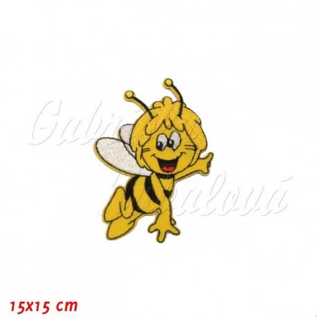 Nažehlovačka, Včelka Mája v letu, 15x15cm