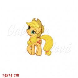 Nažehlovačka, My Little Pony - Applejack, 15x15cm