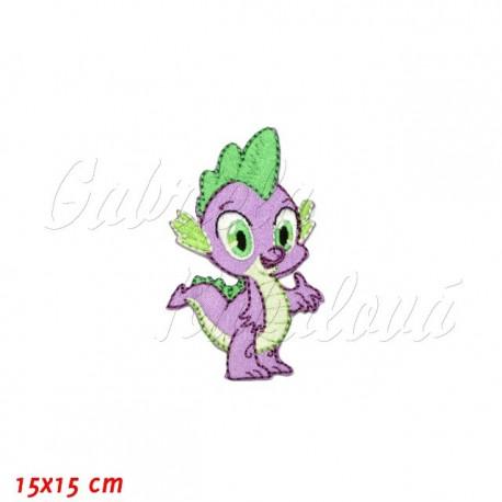 Nažehlovačka, My Little Pony - Spike, 15x15cm