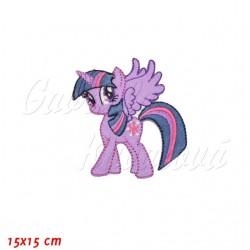Nažehlovačka, My Little Pony - Twilight Sparkle, 15x15cm